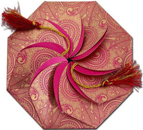 Contemporary Wedding Invitation card India