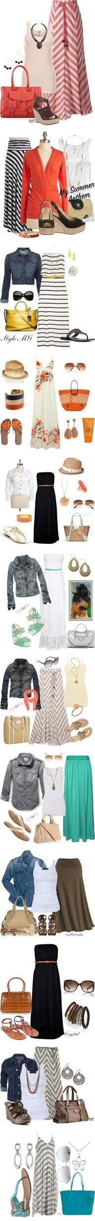 Summer casual // laid back // easy outfits