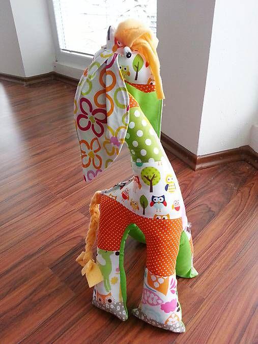 HEDERVIGA / Žirafka ušatá vysoká 50 cm ...sovičky