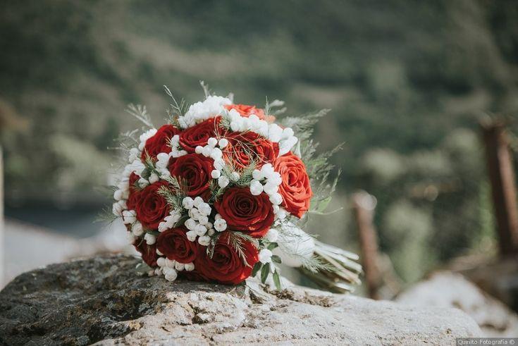 Ramo de novia en tonos rojos para tu boda     #wedding #bodas #boda #bodasnet #decoración #decorationideas #decoration #weddings #inspiracion #inspiration #photooftheday #love #beautiful #bride #groom #awesome #flowers