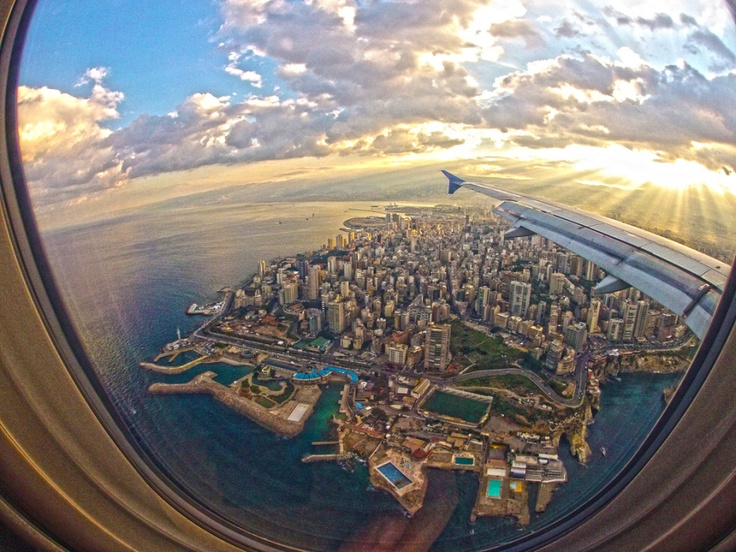 Beirut from above