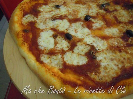 La pizza di Cle. #ricetta di @wondercle