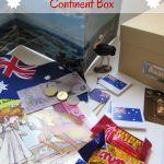 Australia Continent Box