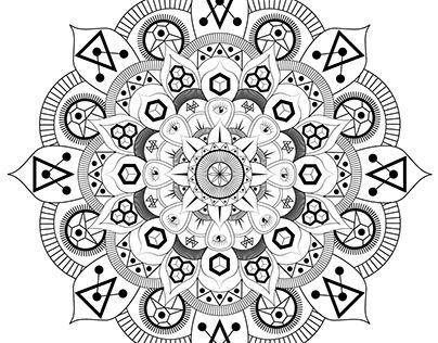 "Check out new work on my @Behance portfolio: ""Mandala"" http://be.net/gallery/54961779/Mandala"