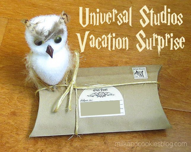 DIY Universal Studios Wizarding World of Harry Potter invitation for kids
