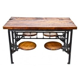 1000 Images About Old Factory Lunch Tables With Swing