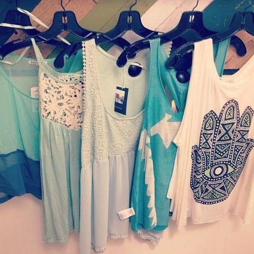 i need these tanks: Fashion, Tanktops, Style, Tank Tops, T Shirt, Clothes, Dream Closet, Summer, Tanks