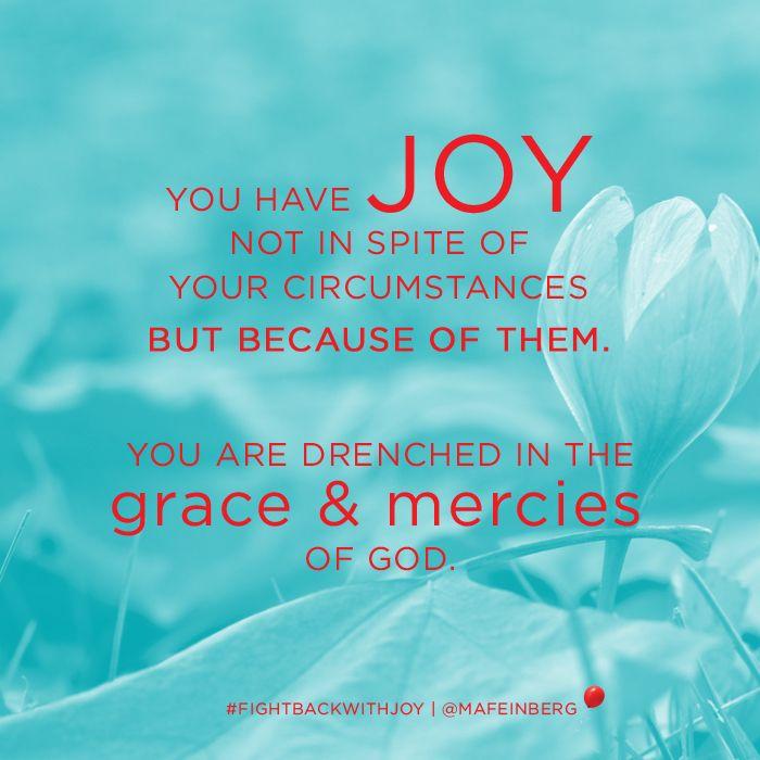 Margaret Feinberg, Fight Back With Joy http://www.christianbook.com/fight-celebrate-regret-stare-greatest-fears/margaret-feinberg/9781617950896/pd/950896?p=1166543