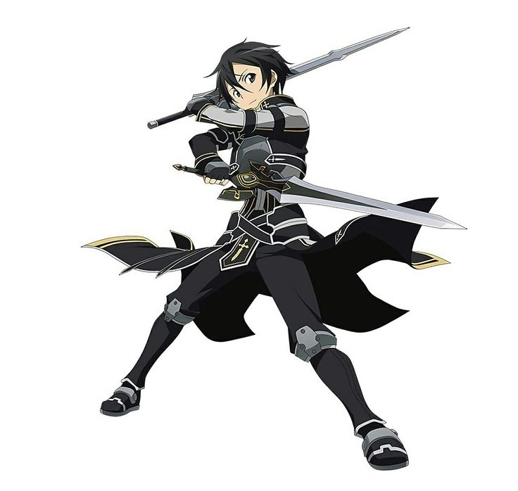 Sword Art Online - Alternate Outfit Kirito | This guy is one of the most underrated characters of the series. I'm glad that most of the female characters(Sinon, Leafa, Silica, Lisbeth) will be completely cut from the storyline in season 3 because the fandom focuses too much on these characters that play very minor roles. I mean, yeah they're cool and cute, but they're given too much credit. Like, Sinon would be dead if Kirito never investigated the GGO case. Honestly, I wished they would…