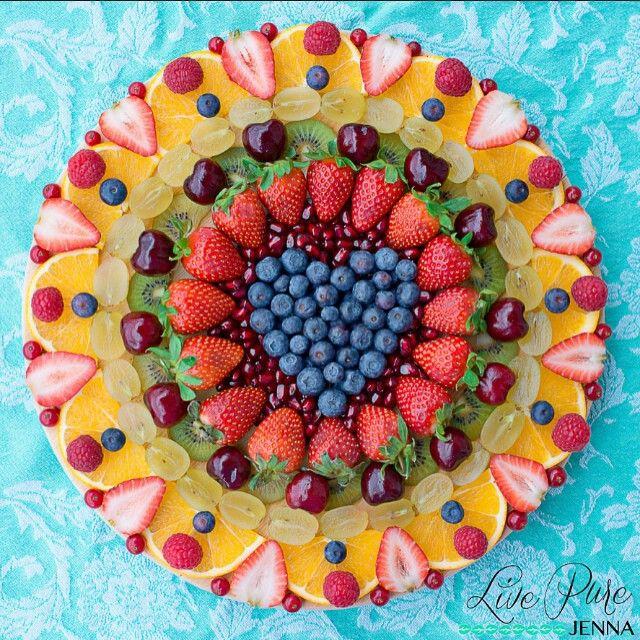 Healthy Food Fruits Cake Inspiration Cibo Sano Torta Di Frutta Ispirazione Cake Decorated