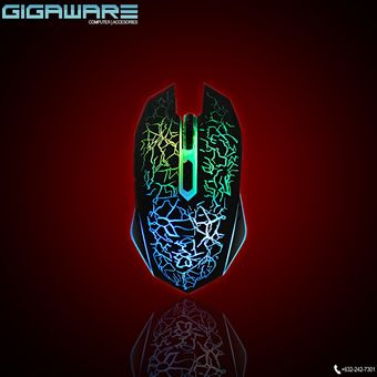 Buy Gigaware LED Lightning Gaming Mouse (Black) online at Lazada Philippines. Discount prices and promotional sale on all Gaming. Free Shipping.