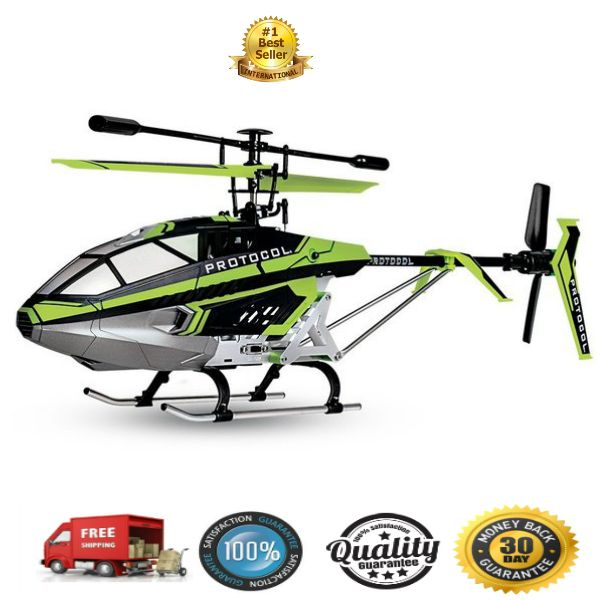 Thunder Sky Rc Helicopter Indoor Outdoor Large Helicopter 3.5 Channel    The Thunder Sky Rc Helicopter Indoor Outdoor 3.5 CH radio control helicopter with its inherent electronic gyro stabilizer is one of the finest choppers in convention's great...
