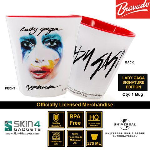 Universal Music/ Bravado Officially Licensed MerchandiseArtist: Lady Gaga Applause Autograph Edition