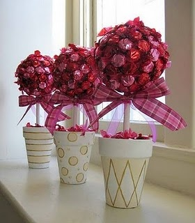 Candy Tree Centerpieces