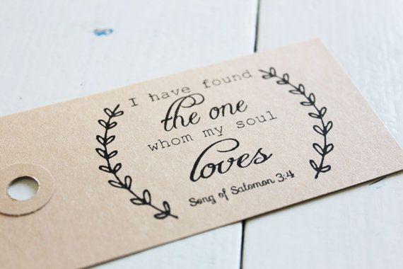Bible verse stamp