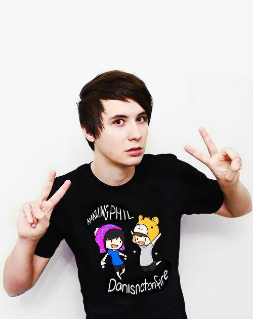 Guess what, Dan and I have the same shirt it's like we planned it or something .-.