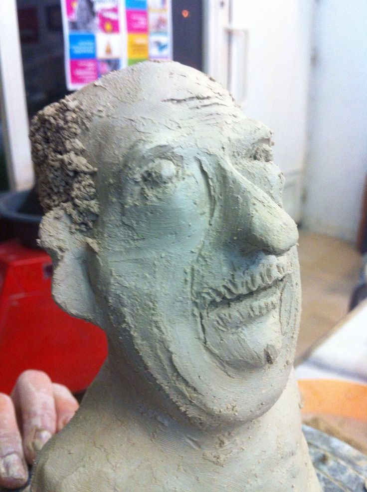 Clay, Men, Ceramic - Ayse Ozturkmen