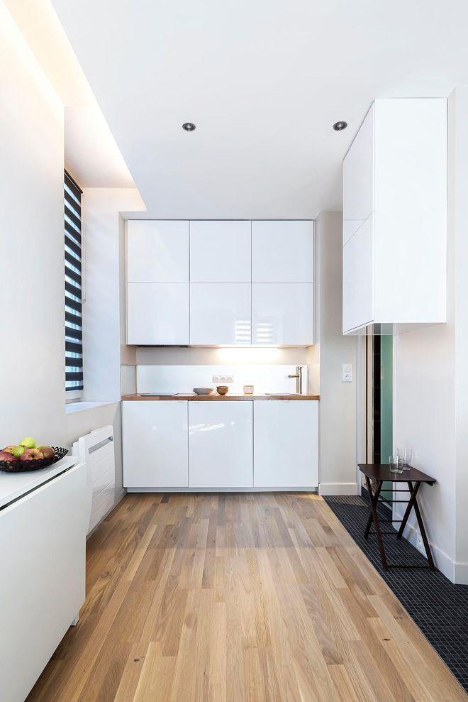 cuisine sur un pan de mur fp26 jornalagora. Black Bedroom Furniture Sets. Home Design Ideas