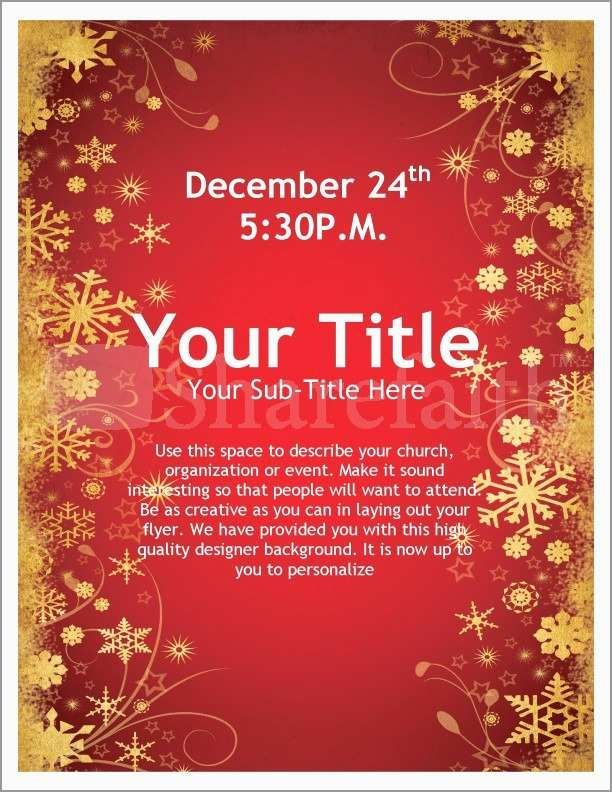 Free Downloadable Christmas Flyer Templates Free Christmas Flyer Templates Holiday Flyer Template Holiday Party Flyer