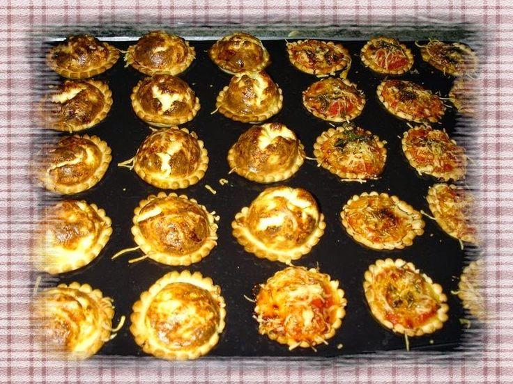 Des Empreintes ... dans ma Cuisine !!!: Mini quiches et Pizza apéritives