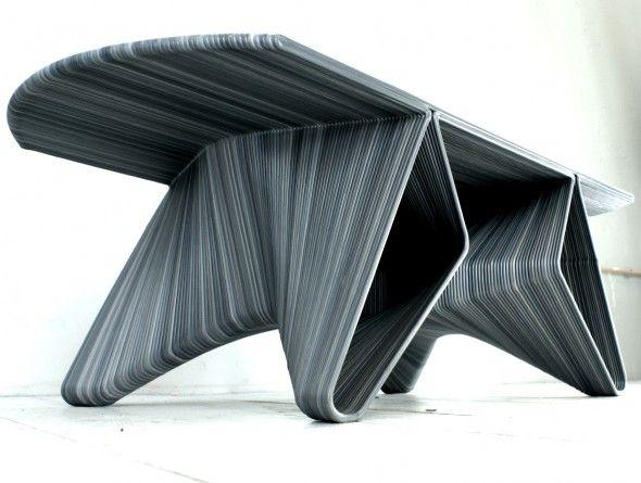 edgy furniture. Dirk Vander Kooij   Saloon Table Edgy Furniture Pinterest