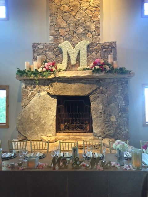 Wedding Mantle Personalized Mantle Whim Florals Ian