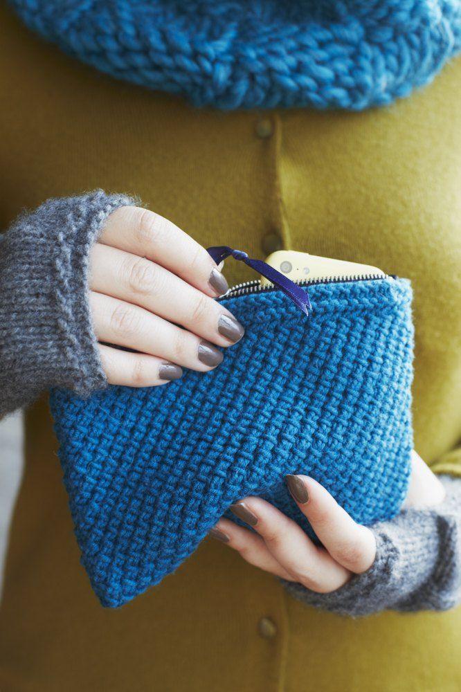 Patrizia Pouch in MillaMia Naturally Soft Aran - Downloadable PDF Knitting ...