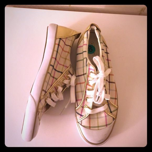 Host PickCoach Sneaker Size 8 Plaid Coach Sneakers Size 8. Worn once. Coach Shoes Sneakers