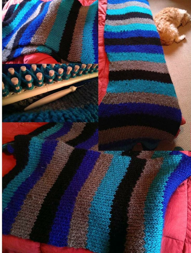 17 Best Images About Martha Stewart Loom Knitting Patterns