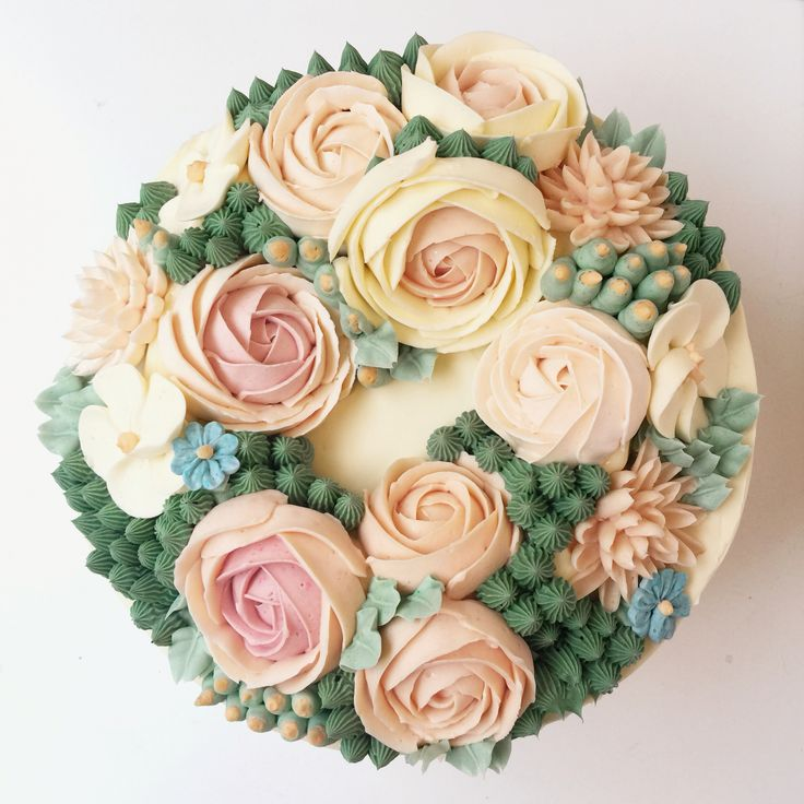 Cake Decorating Flowers Uk : 1000+ ideas about Buttercream Flowers on Pinterest ...