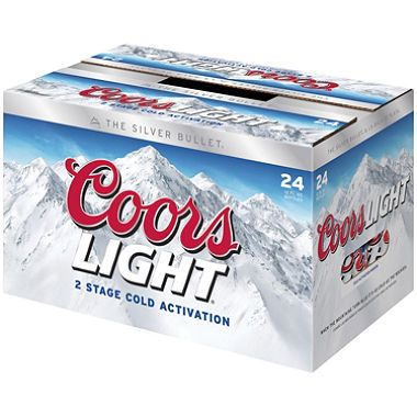 Coors Light Template Cake 21st Birthday Cakes Coors