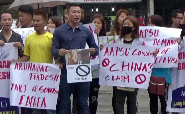 Arunachal Pradesh: Students Union protest against China's claim over renaming places in state :http://gktomorrow.com/2017/04/25/arunachal-pradesh-students-union-protest/