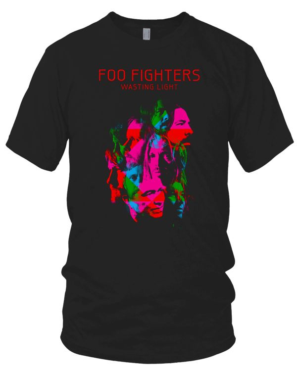 Foo Fighters (Wasting Light Album With Tour Dates) Black Mens T-Shirt. Buy Foo Fighters (Wasting Light Album With Tour Dates) Black Mens T-Shirt at the official Foo Fighters online shop