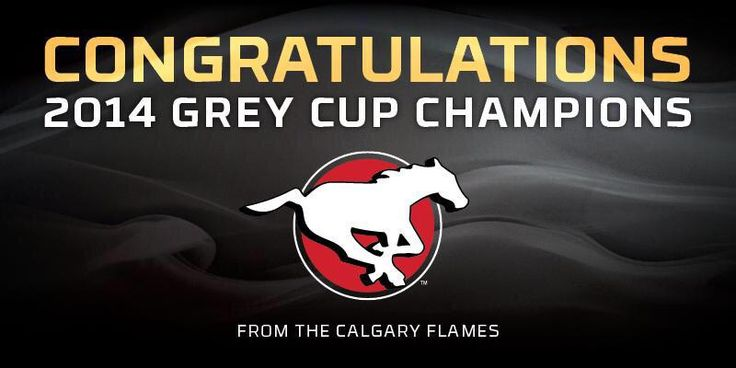 CONGRATS !!!! @calstampeders! THE #GREYCUP CHAMPIONS #YYC #GreyCup2014 #CrystalGlass