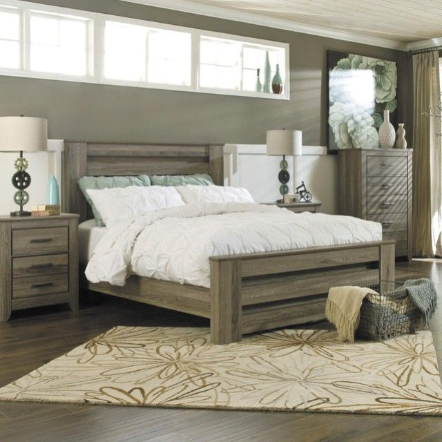 Trinell Queen Panel Bed – Bedroom Furniture – Ashley Furniture ...