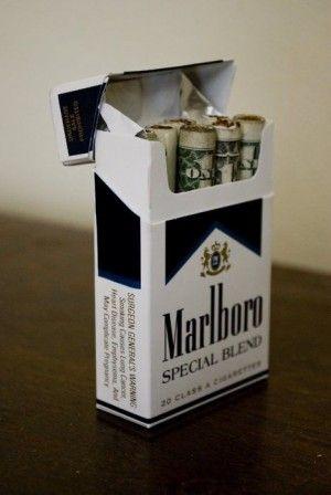 dinero cigarros