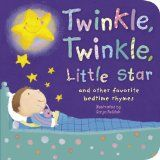 A collection of short nursery rhymes, many of them bedtime/nighttime themed, and accompanied by colorful illustrations.