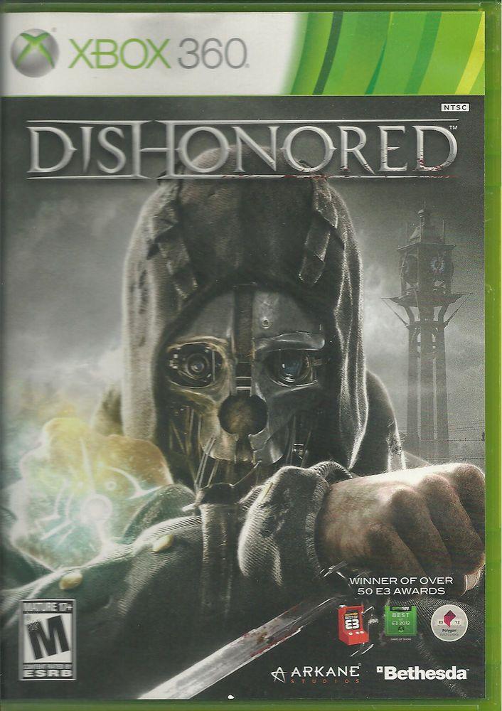 DISHONORED Xbox 360 2012 Mature 17 2488