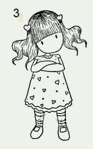 Sí, soy madre . Pero me he enamorado de unas muñequitas que veo por todas partes y que no tienen ni nariz ni ojos. Se llaman Gorjuss.