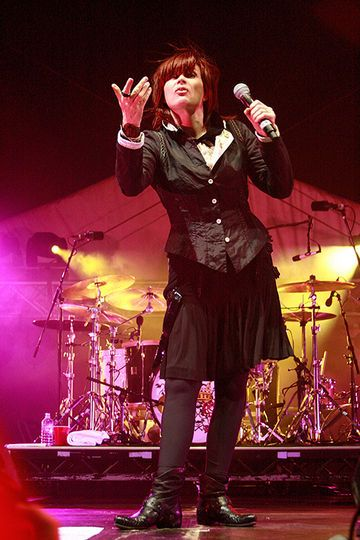 A queen of Australian rock. We miss you Chrissy Amphlett (lead singer of the Divinyls)