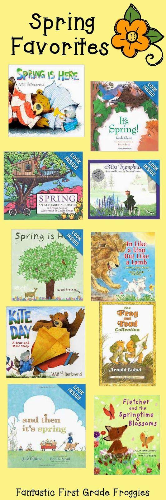 Fantastic First Grade Froggies: Spring Books