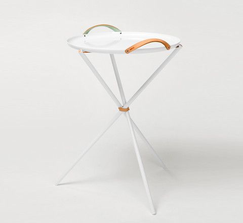 The Minimalist   Carry Me Home Tripod Table By U0026Bros