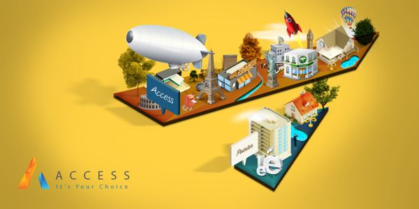 ACCESS City 3D on Behance