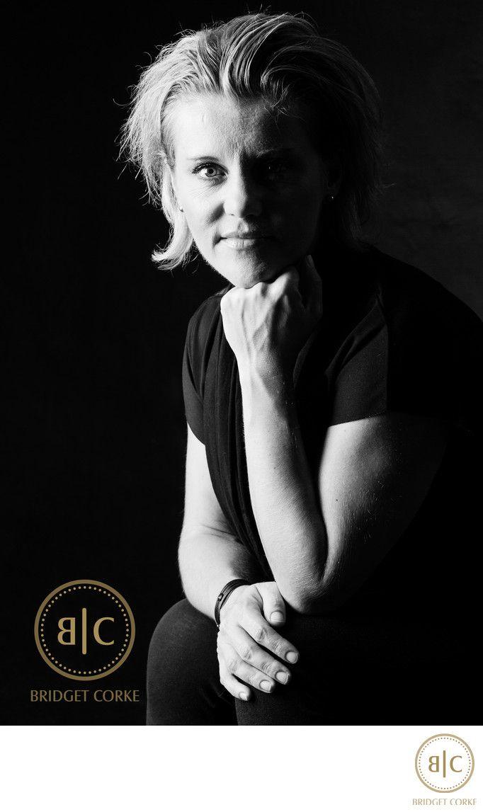 Bridget Corke Photography - Studio Corporate Headshot Candice Meyer: