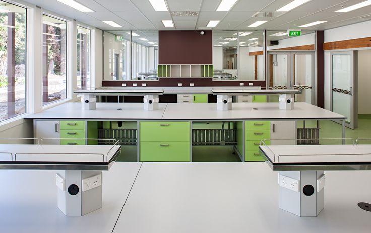 Scion Research Rotorua Melteca laminated panels on moisture resistant substrate