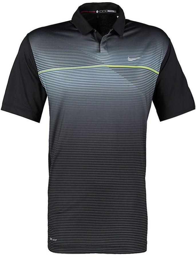 Nike Golf Sports shirt black #golfballsunlimited.com