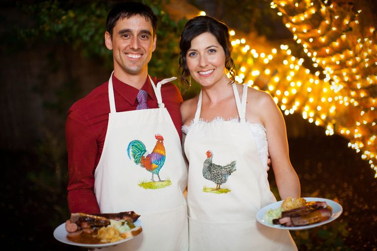 "The Cheap Bastardette's guide to self-catering your wedding via @Offbeat Bride   I also really like the idea of a ""potluck"" reception with everyone providing the recipes of what they made. :-) This way you can also make sure everyone has something they can eat."
