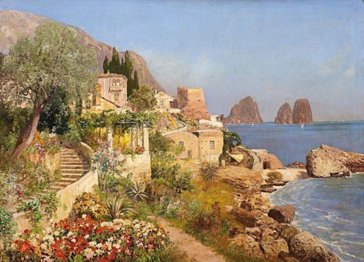 Quadri dipinti a mano paesaggi