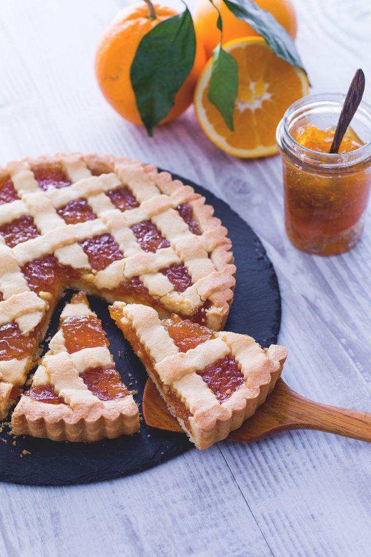 Crostata all'arancia: pronti per una colazione golosa e ricca di sane energie? [Orange jam tart]