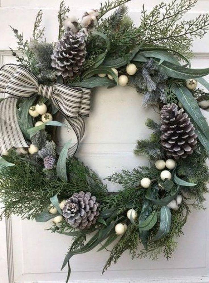 diy winter wreaths for front door